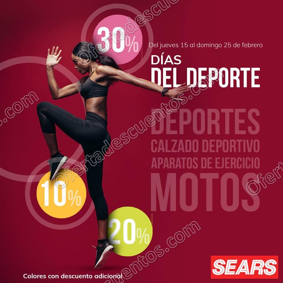 Sears: Días del Deporte hasta 30% de descuento en ropa, calzado deportivo y más