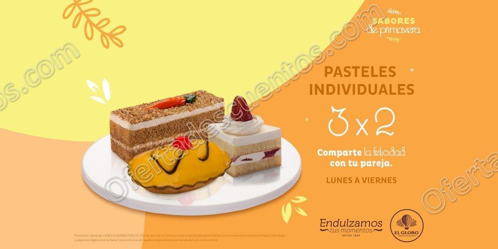 Pastelería El Globo: 3×2 en Pasteles Individuales y Empanadas de Lunes a Viernes