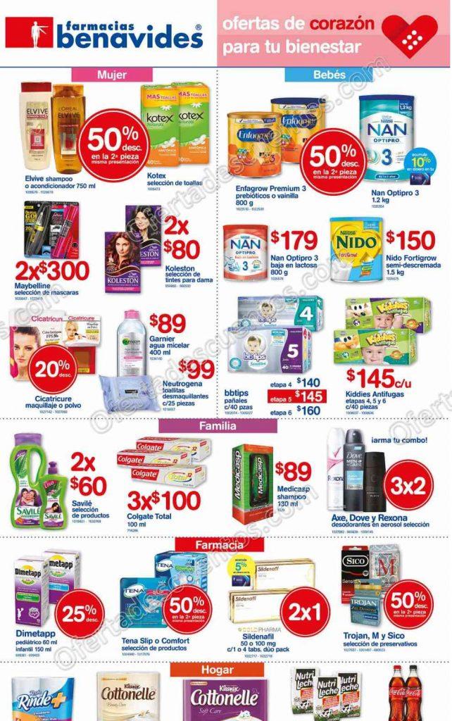 Promociones de Fin de Semana Farmacias Benavides del 23 al 26 de Febrero