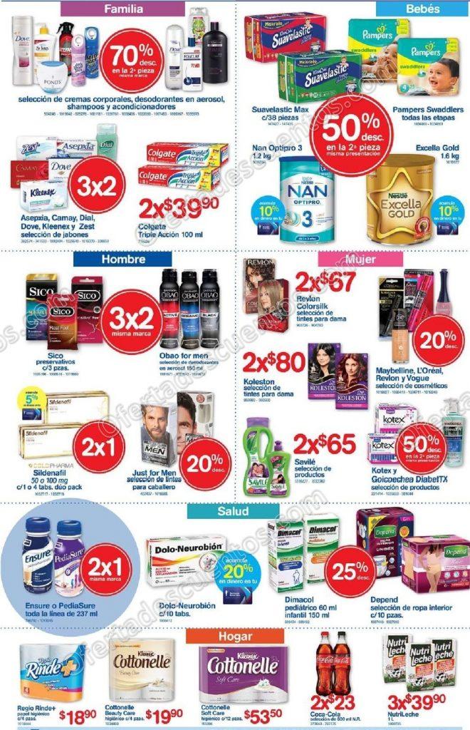 Promociones Fin de Semana Farmacias Benavides 16 al 19 de Febrero 2018