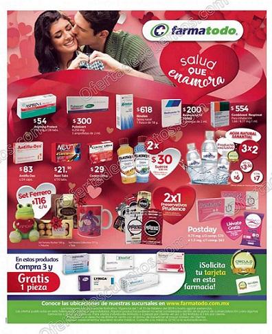 Farmatodo: Promociones mes del amor y la amistad al 15 de Febrero 2018