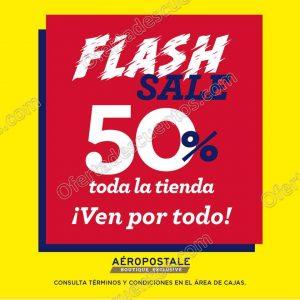 Aéropostale: Flash Sale 50% de descuento en toda la tienda de 18 de febrero al 6 de marzo 2018