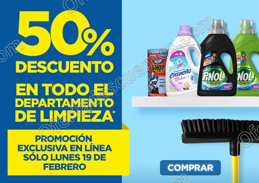 Lowe's: 50% de descuento en todo el departamento de limpieza