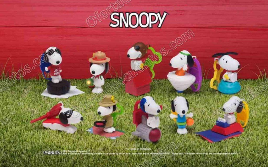 McDonald's: Nueva Cajita Feliz con Juguetes de Snoopy