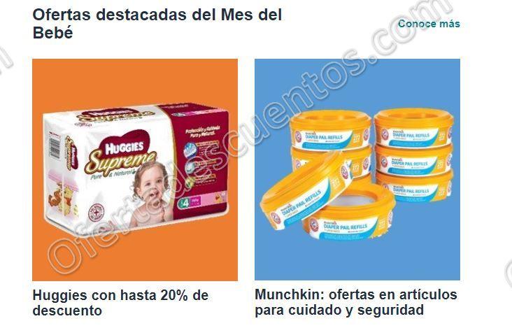 Amazon: Ofertas del Mes del Bebé hasta 20% de descuento en pañales Huggies y más