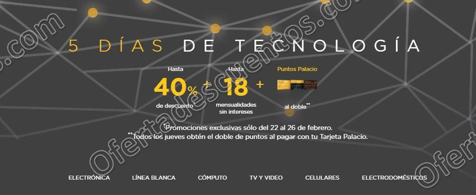 Palacio de Hierro: 5 días de Tecnología con hasta 40% de descuento en línea blanca y más