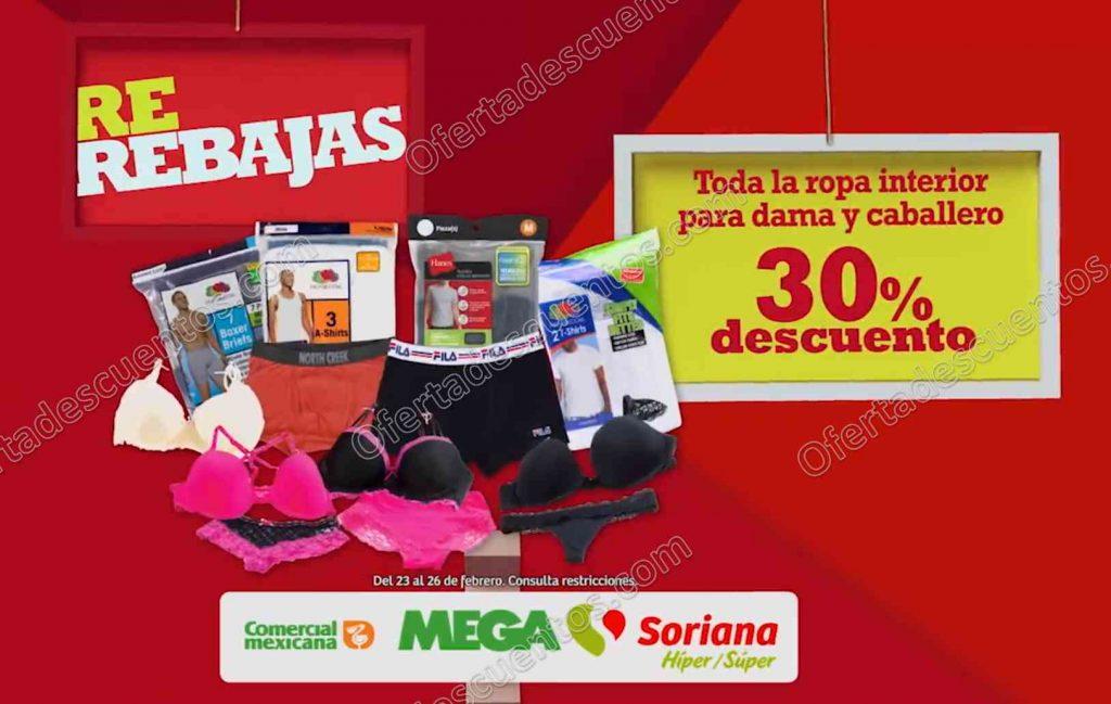 Promociones de fin de semana Comercial Mexicana del 23 al 26 de Febrero 2018