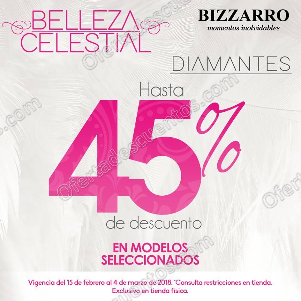 Joyerías Bizzarro: Ofertas y Descuentos Belleza Celestial hasta 45% de descuento