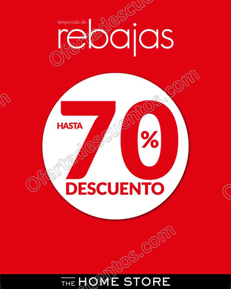 The Home Store: Últimas Rebajas con hasta 70% de descuento