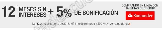 The Home Depot: 5% de bonificación más 12 meses sin intereses con Santander