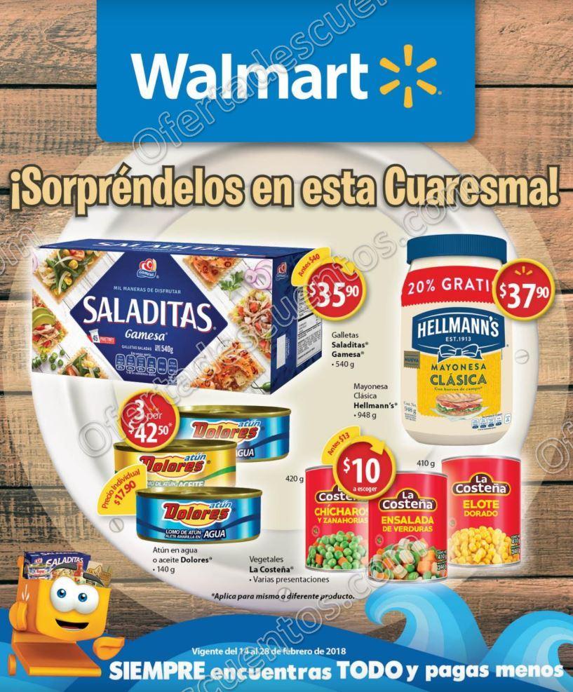 Walmart folleto de ofertas de cuaresma del 14 al 28 de - Hogarium catalogo de ofertas ...