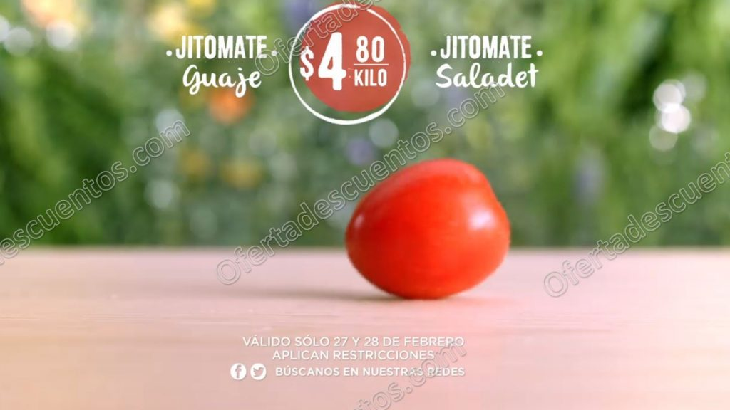 Frutas y Verduras Soriana 27 y 28 de Febrero 2018
