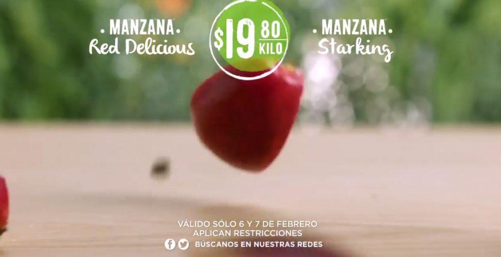 Frutas y Verduras Comercial Mexicana y Mega Soriana 6 y 7 de Febrero 2018