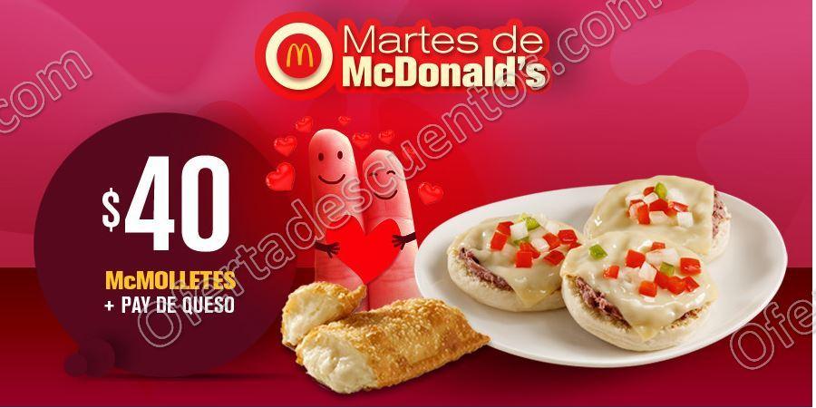 Cupones Martes de McDonald's 13 de Febrero 2018