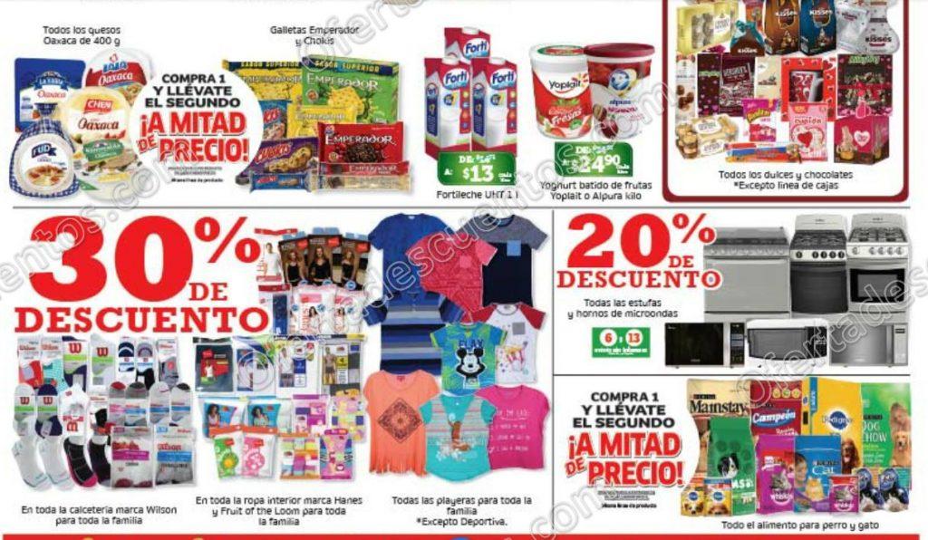 Soriana: Promociones de Fin de Semana del 9 al 12 de Febrero 2018