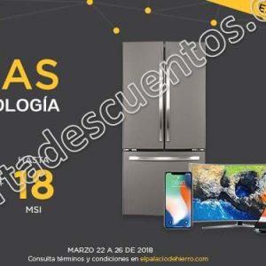 5 Días de Tecnología Palacio de Hierro: Hasta 40% de descuento del 22 al 26 de marzo
