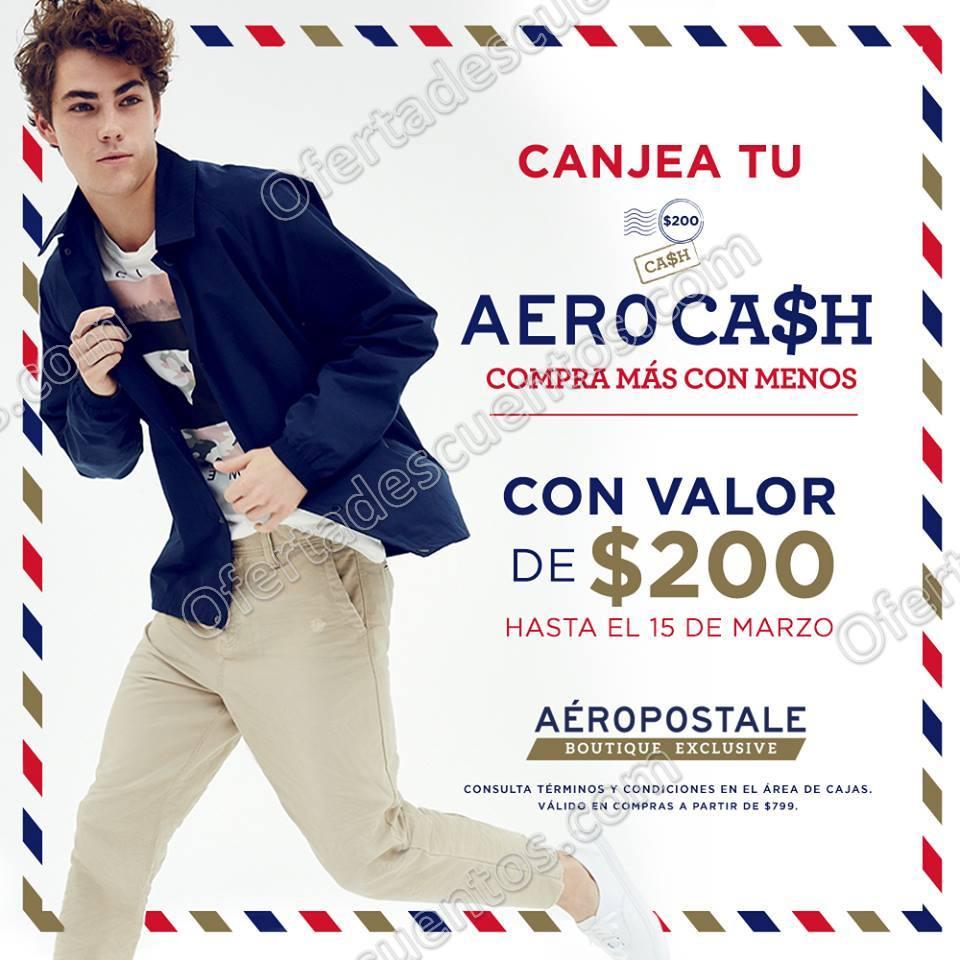 Aéropostale: $200 de Bonificación en compras de $799 del 1 al 15 de Marzo 2018