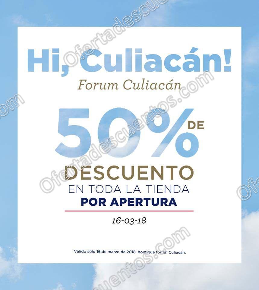 Aéropostale: 50% de descuento en toda la tienda por apertura en Forum Culiacán