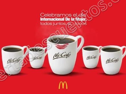 McDonald's: Café Gratis para todos este jueves 8 de Marzo 2018