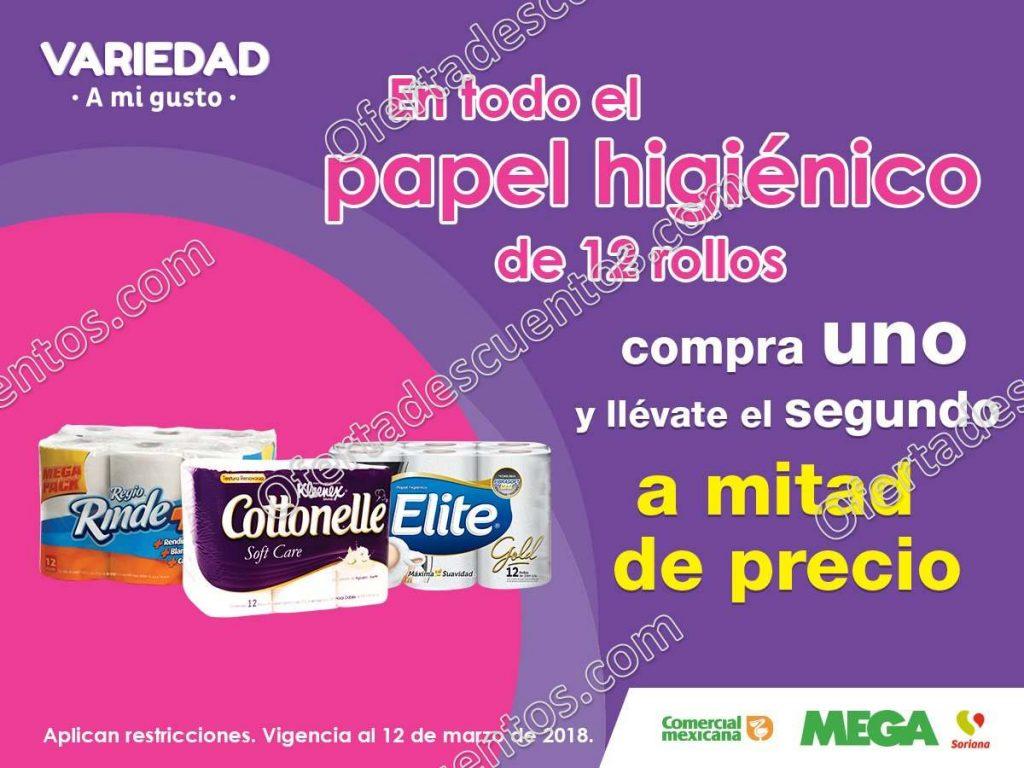 Comercial Mexicana: 50% de descuento en detergentes en segunda compra y más