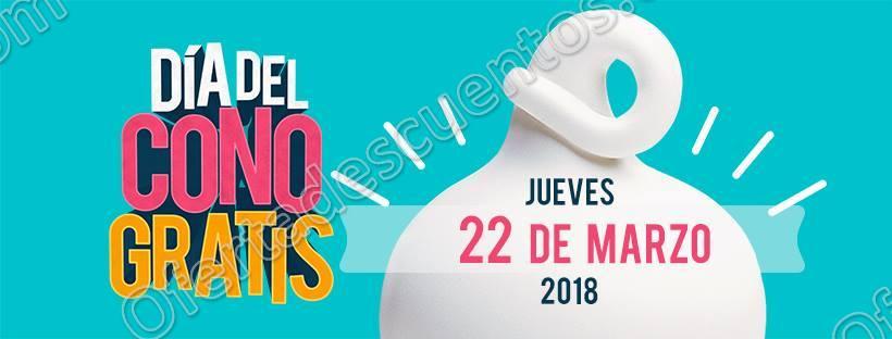 Dairy Queen: Día del Cono Gratis Jueves 22 de Marzo 2018