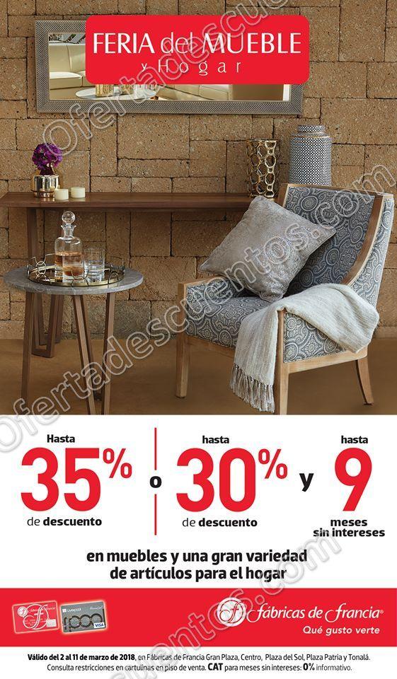 Feria del mueble y hogar f bricas de francia del 2 al 11 for Hogar del mueble