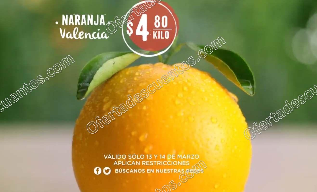 Frutas y Verduras Comercial Mexicana y Soriana 13 y 14 de marzo 2018