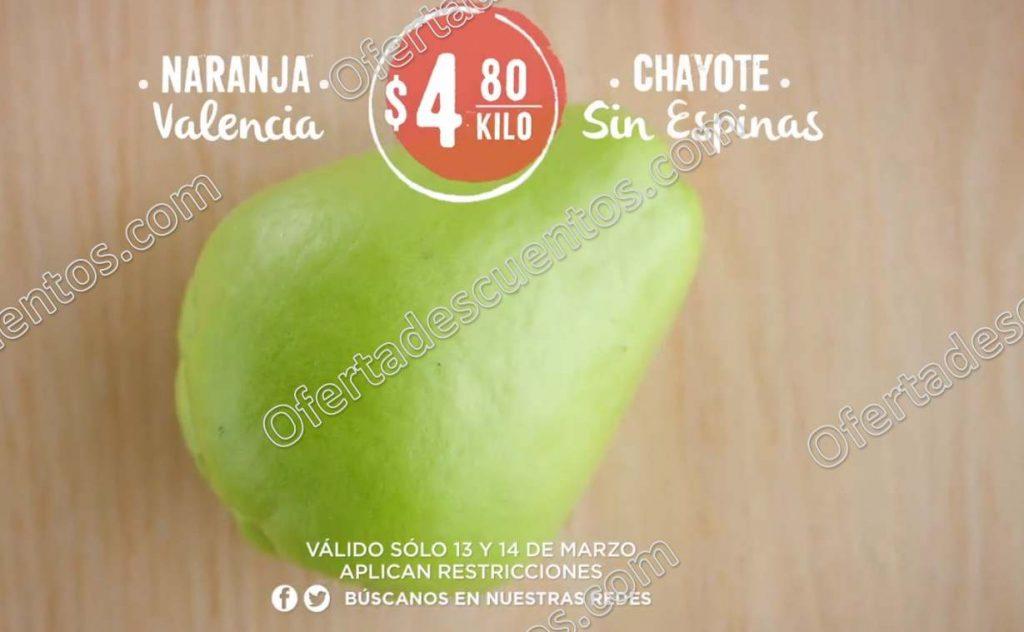Frutas y Verduras Soriana 13 y 14 de Marzo 2018