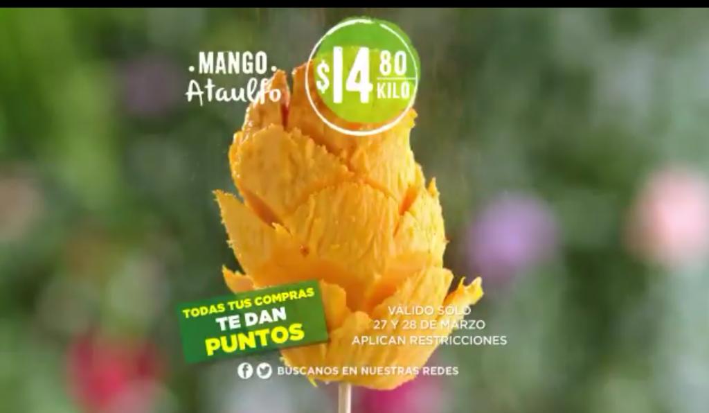 Ofertas en Frutas y Verduras Comercial Mexicana 27 y 28 de Marzo 2018