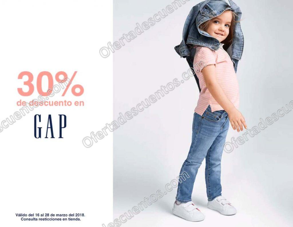 GAP: 30% de descuento en toda la marca