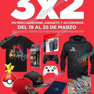 Gamers: 3×2 en Gadgets, Accesorios y Merchandising del 19 al 25 de marzo