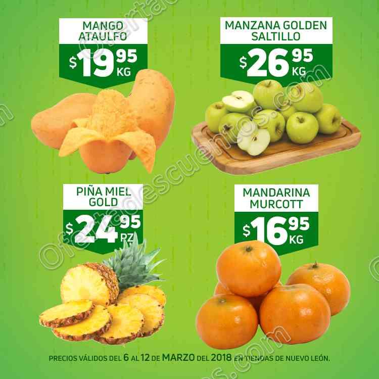 HEB: 7 Días de Frutas y Verduras del 6 al 12 de Marzo 2018