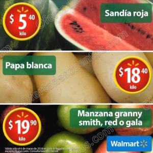 Martes de Frescura Walmart 6 de Marzo 2018