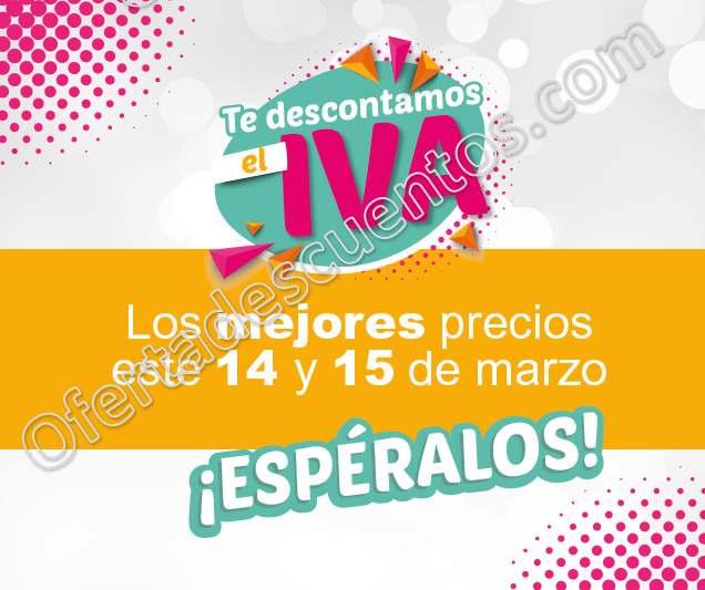 Office Depot: Te descuentan el IVA en productos seleccionados el 14 y 15 de Marzo