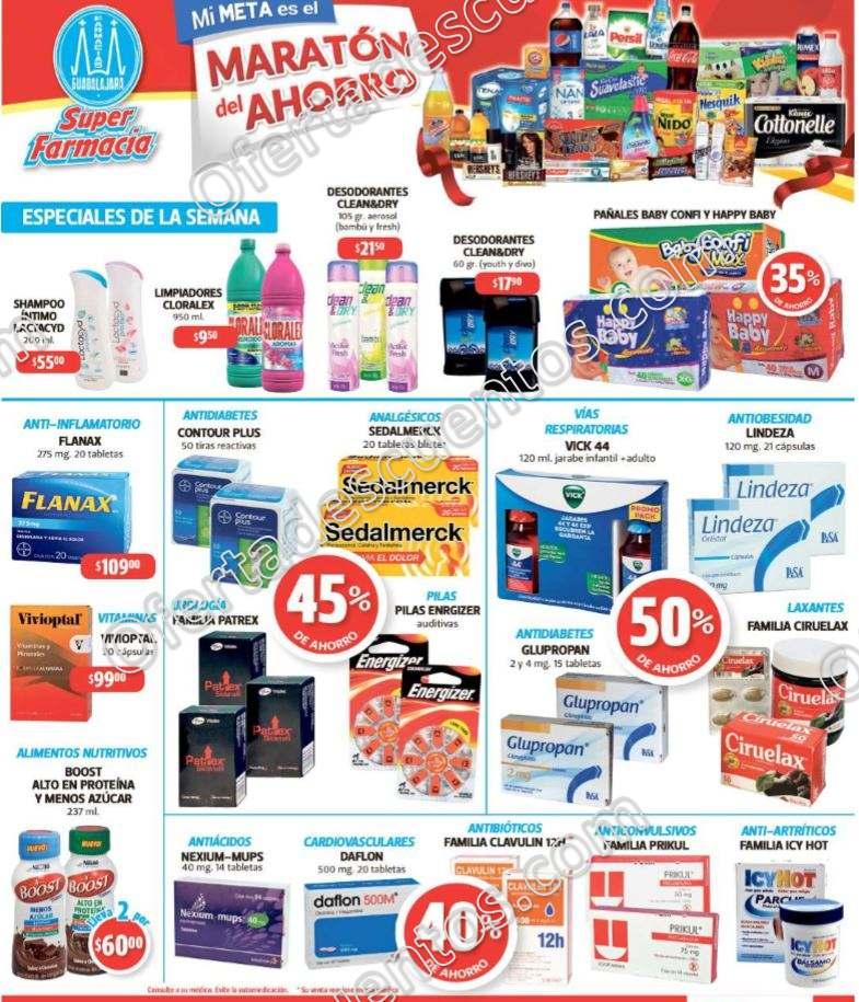 Farmacias Gualajara: Promociones de la semana del 20 al 22 de marzo 2018