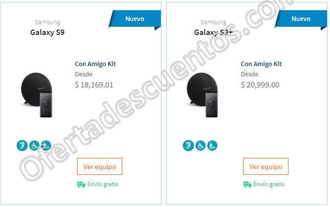 Telcel: Precios del nuevo Samsung Galaxy S9 y S9 Plus más Bocina Harman Kardon de Regalo