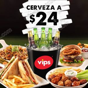 Vips: Cervezas a $24 en temporada de Champions League 2018