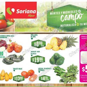 frutas y verduras soriana 20 y 21 de marzo 2018