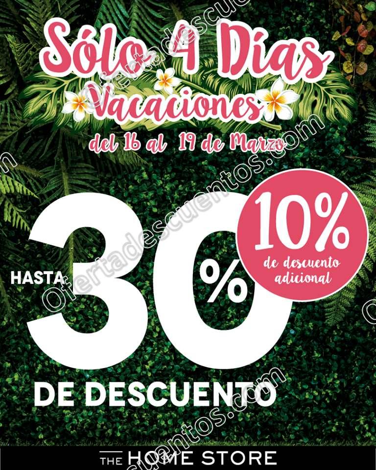 """The Home Store: 4 Días de Venta Especial """"Vacaciones"""""""