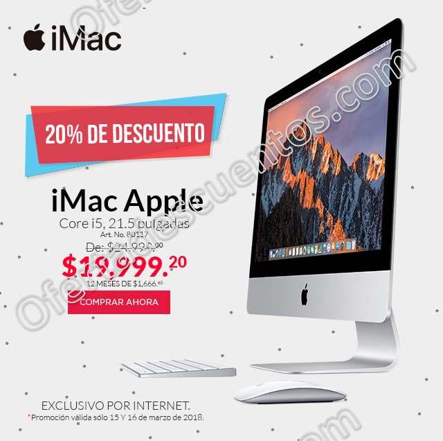 Office Depot: iMac con 20% de Descuento