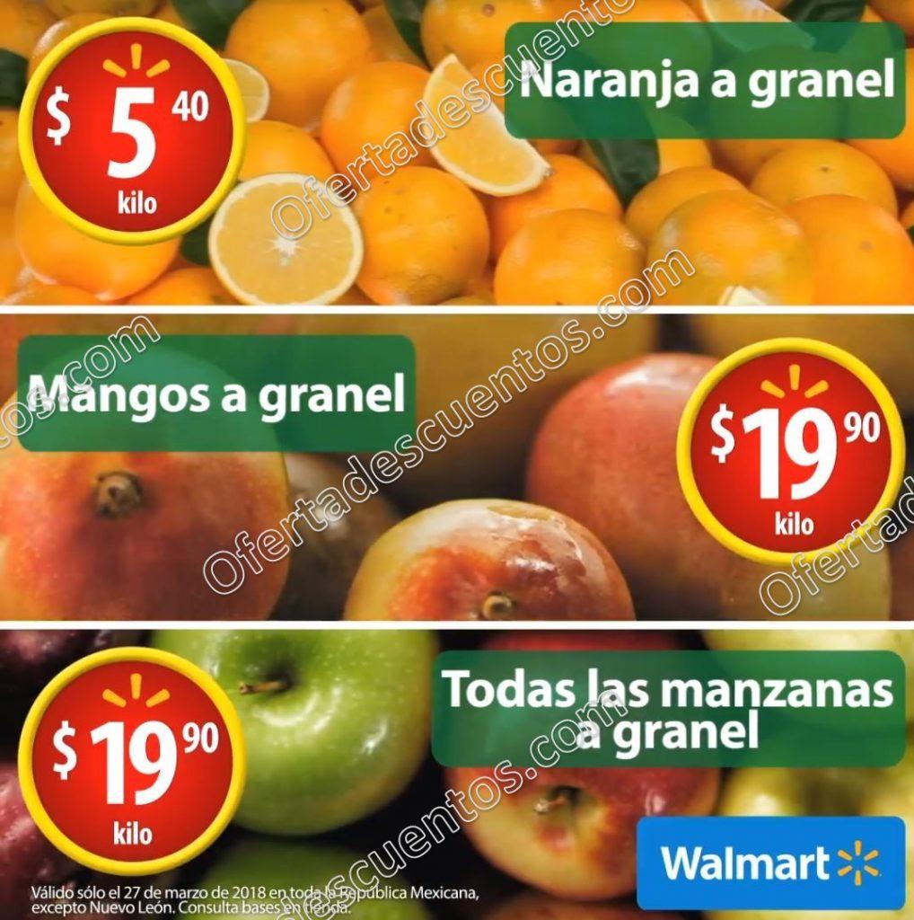 Martes de Frescura Walmart 27 de Marzo 2018