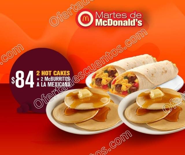 Cupones Martes de McDonald's 27 de Marzo 2018