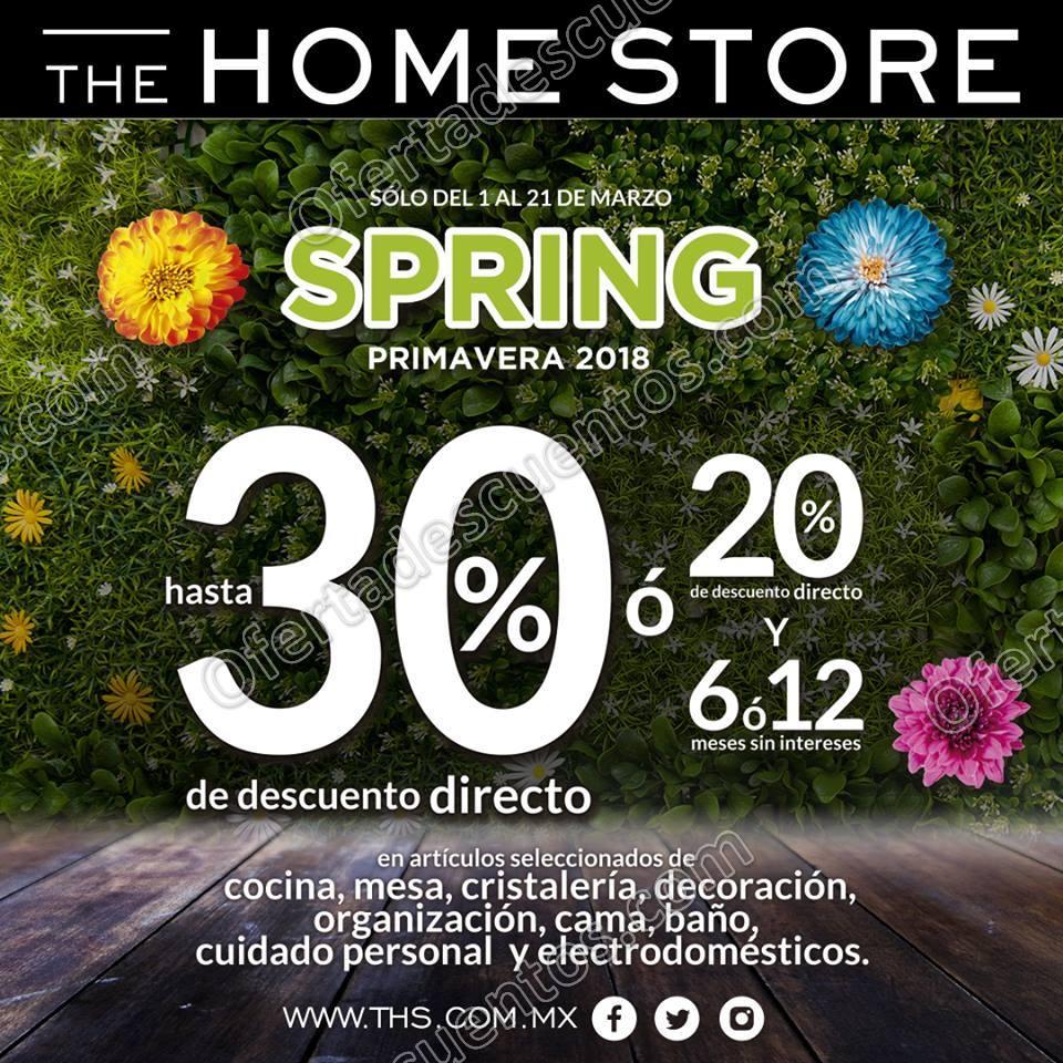 Descuentos Primavera 2018 The Home Store: Hasta 30% de descuento en cocina, mesa y más