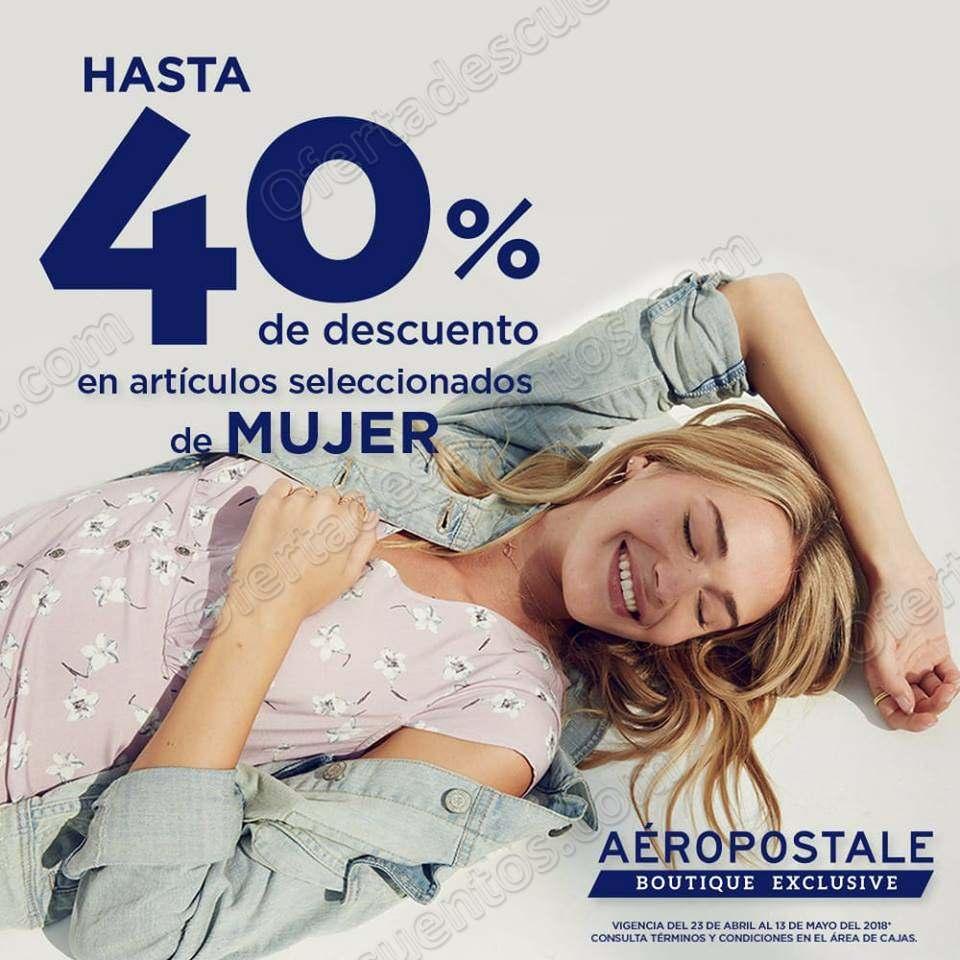 Aéropostale: Hasta 40% de descuento en artículos para mujer