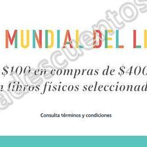 Amazon: Promociones Día Internacional del Libro $100 de descuento en libros