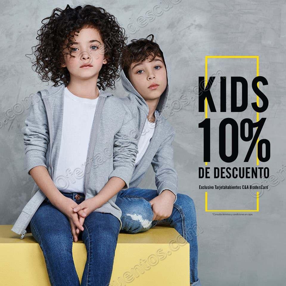 C&A: 10% de descuento en el departamento de niños
