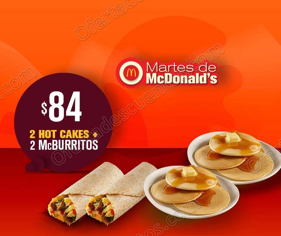 Cupones Martes de McDonald's 1 de Mayo 2018