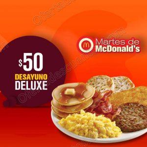 Cupones Martes de McDonald's 24 de Abril 2018
