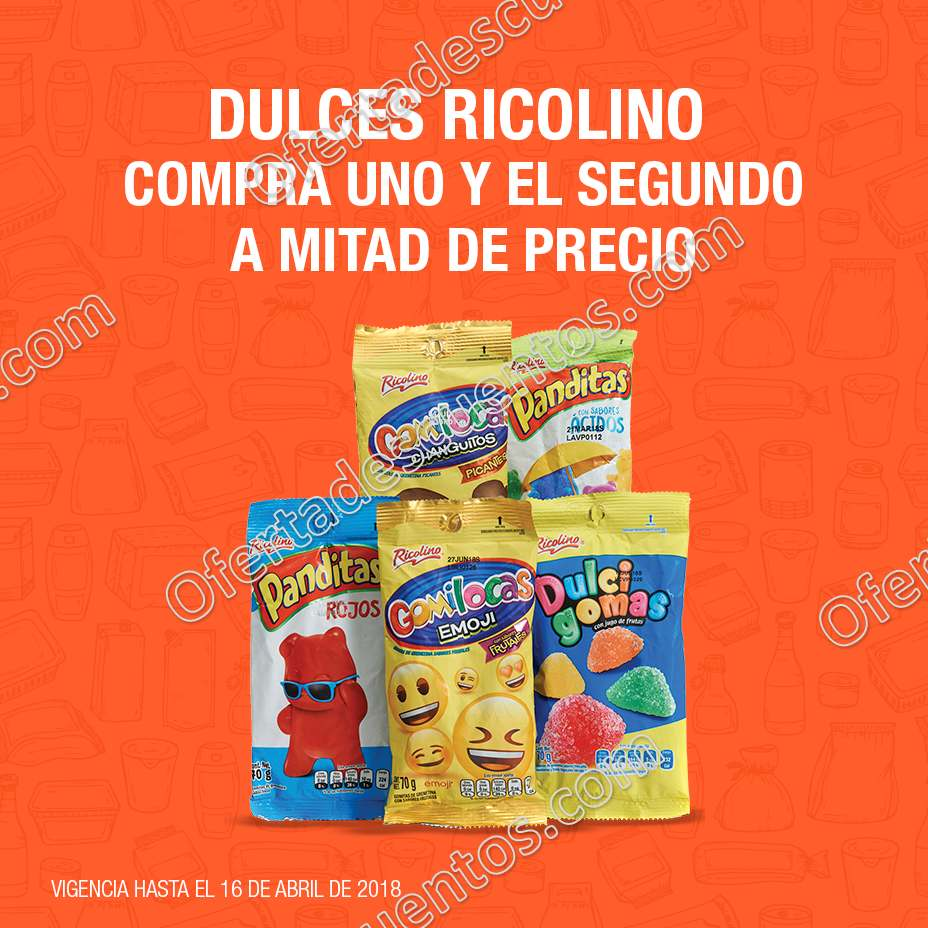 La Comer: Promociones compra un producto y el segundo te lo llevas a mitad de precio