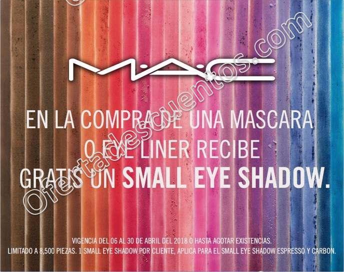 MAC: Compra una máscara de pestañas o delineador y llévate un obsequio